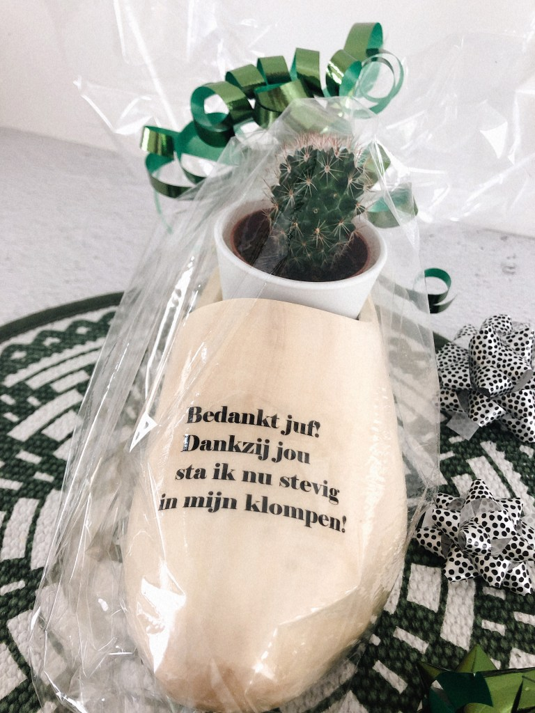 Wonderbaarlijk Origineel cadeau juf einde schooljaar | Bedankt juf! | Inspiratie NL-07
