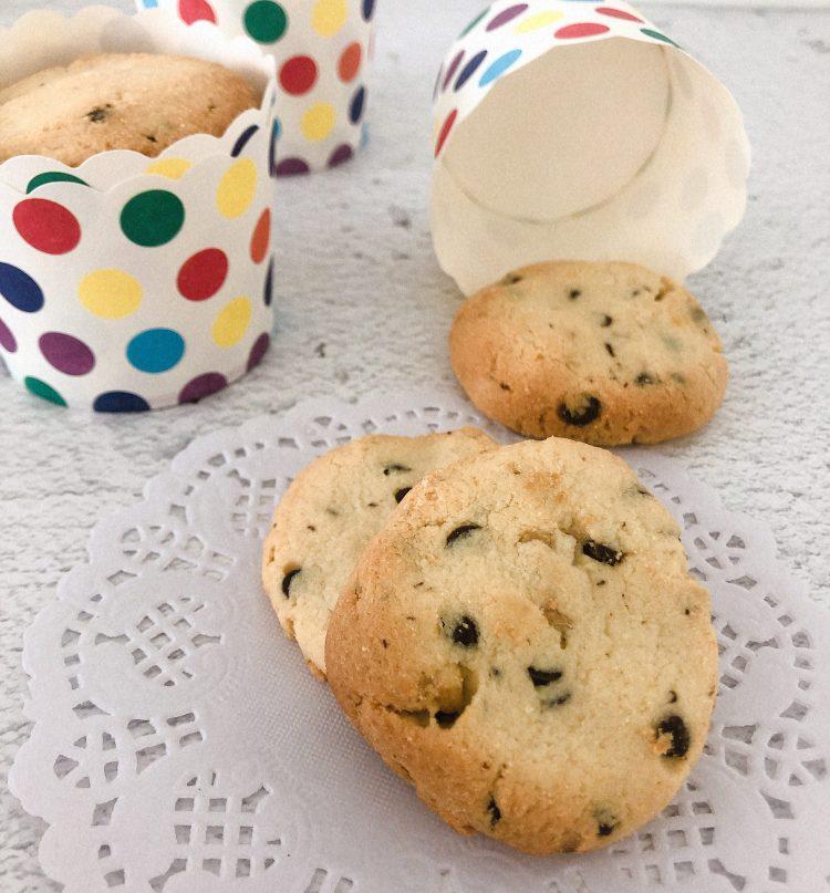 Amandelmeel koekjes met chocolade recept maken makkelijk