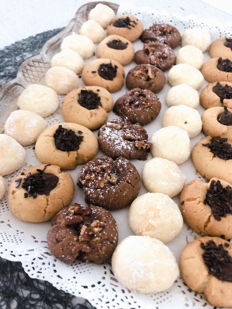 Drie koekjes uit één deeg maken - marokkaans koekjes deeg recept