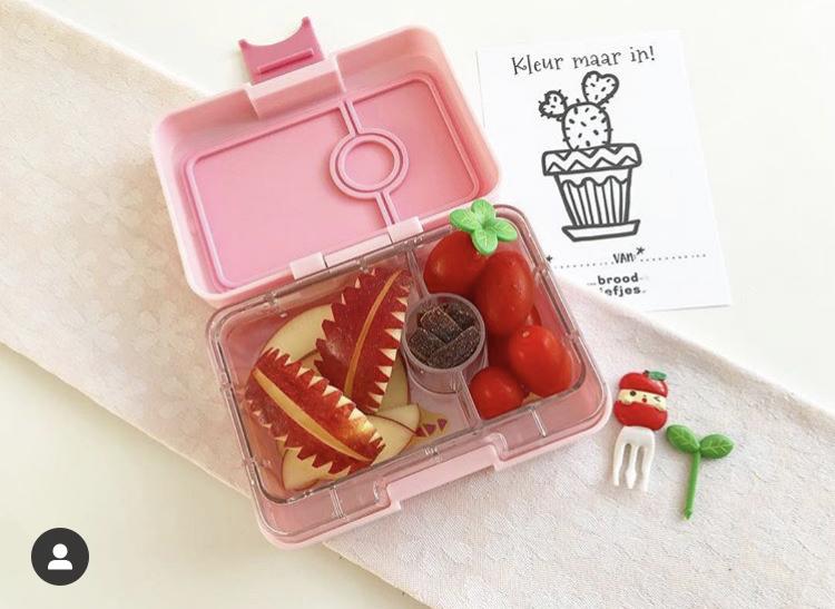 Yumbox bento lunch brooddoos voor kinderen funsmomlife thema herfst