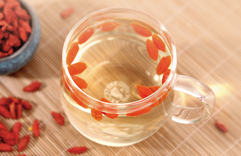 Chinese Green Tea With Goji Berries Ping Ming Health
