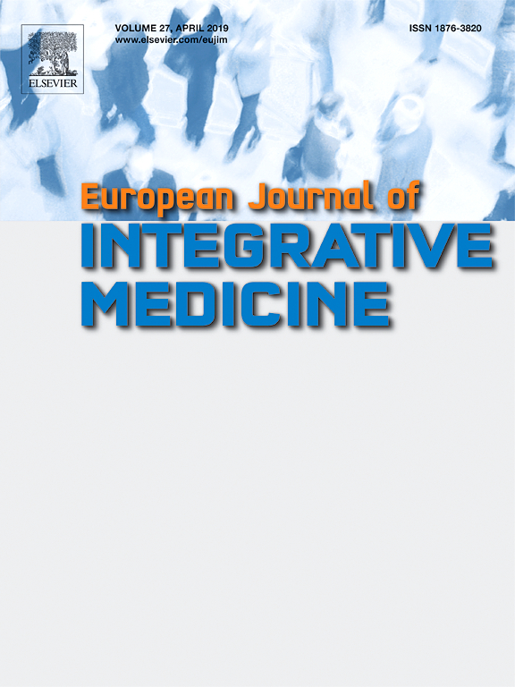 European Journal of Integrative Medicine