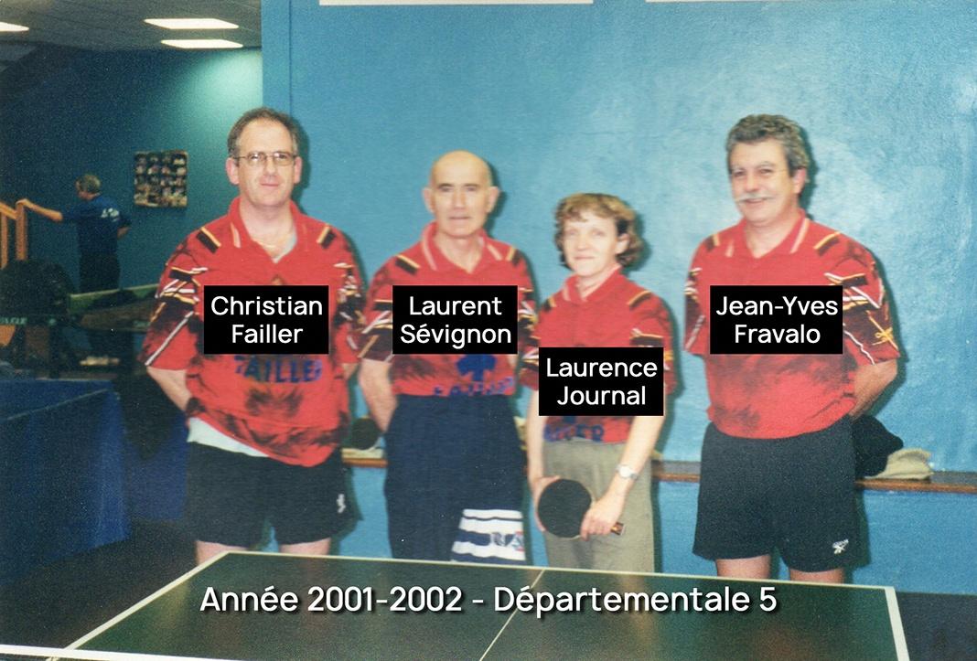 2001 2002 d5 al plon our tennis de table - Calculateur de points tennis de table ...