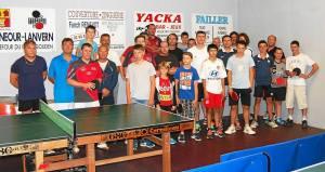 AL Plonéour-Lanvern Tennis de Table 2016