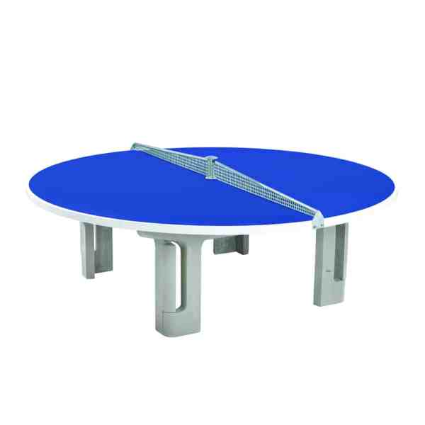 Butterfly R2000 Blue Polymer Concrete Round Table