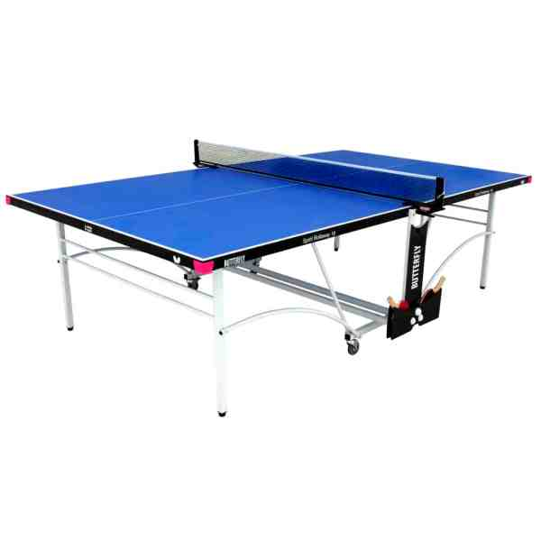 Butterfly Spirit 16 Blue Rollaway Indoor Table