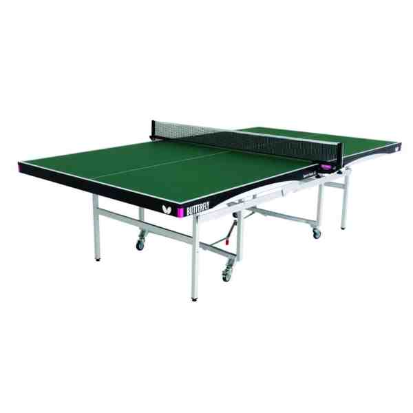 Butterfly Space Saver 22 Green Rollaway Table
