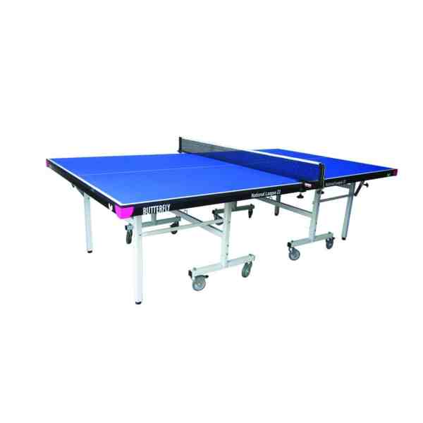 Butterfly National League 22 Blue Rollaway Table