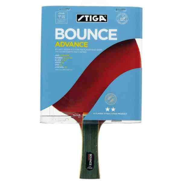 Stiga 2 Star Bounce Advance Table Tennis Bat