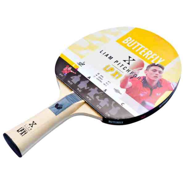 Butterfly Liam Pitchford LPX1 Table Tennis Bat