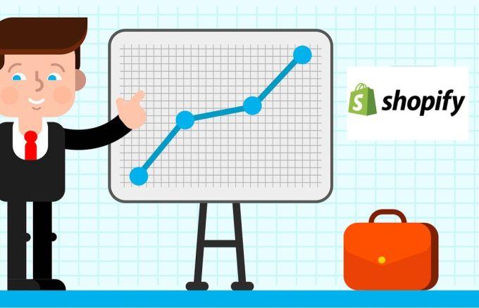Invertir en acciones de shopify