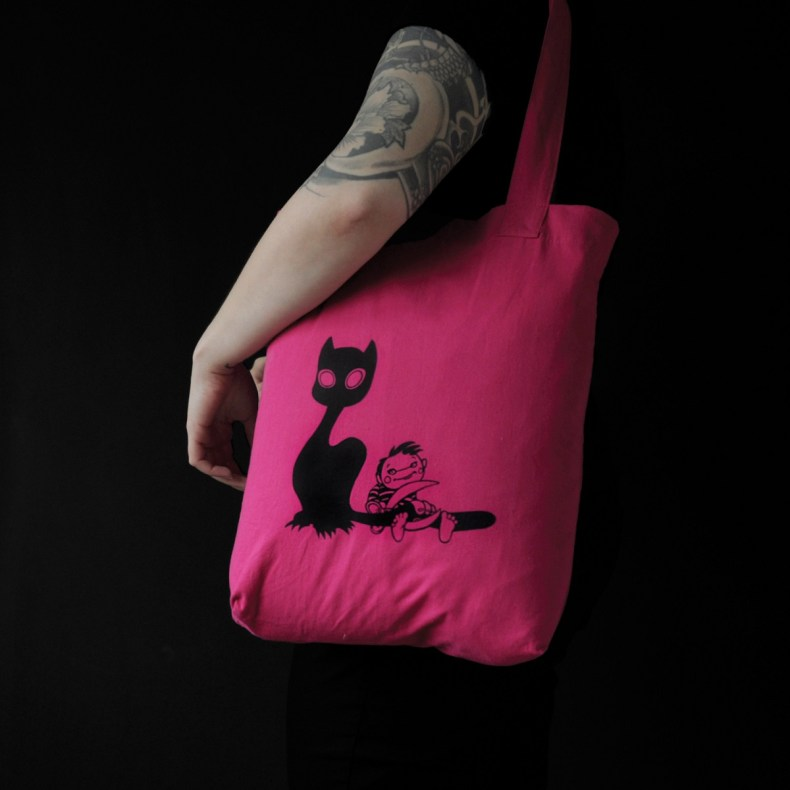A Cat's Tale tote bag