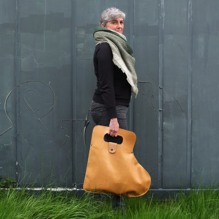 Koutkunstje leather bag