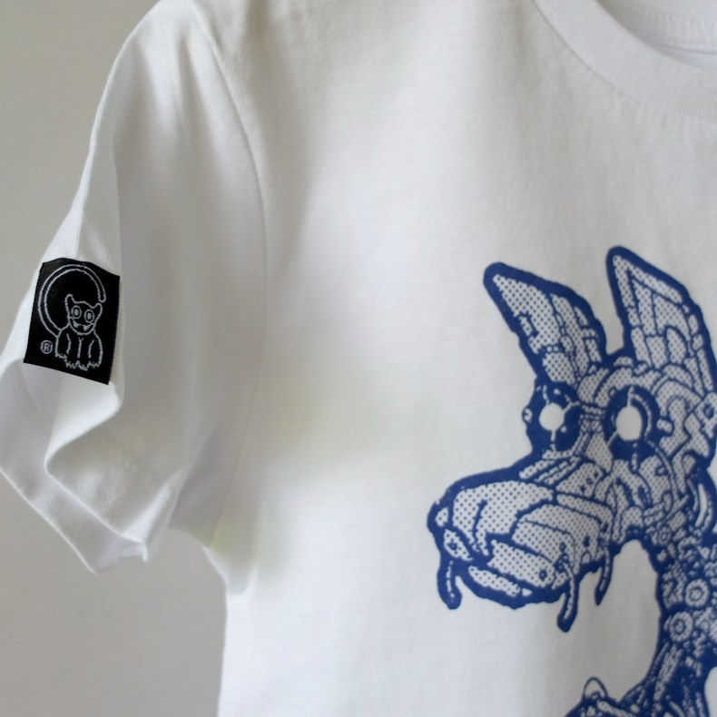 Felix the Robot Dog white tee