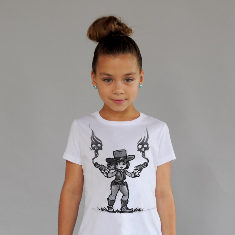Cute Eastwood kids tee