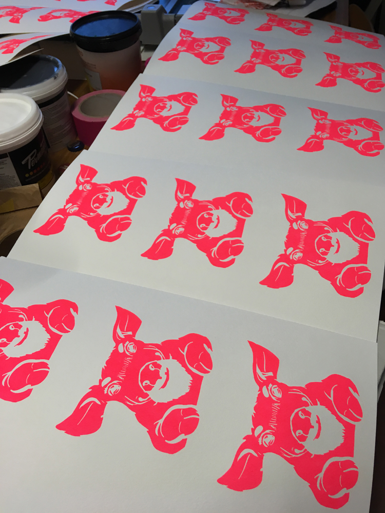 Creating the Year of the Pig by Pini Piru