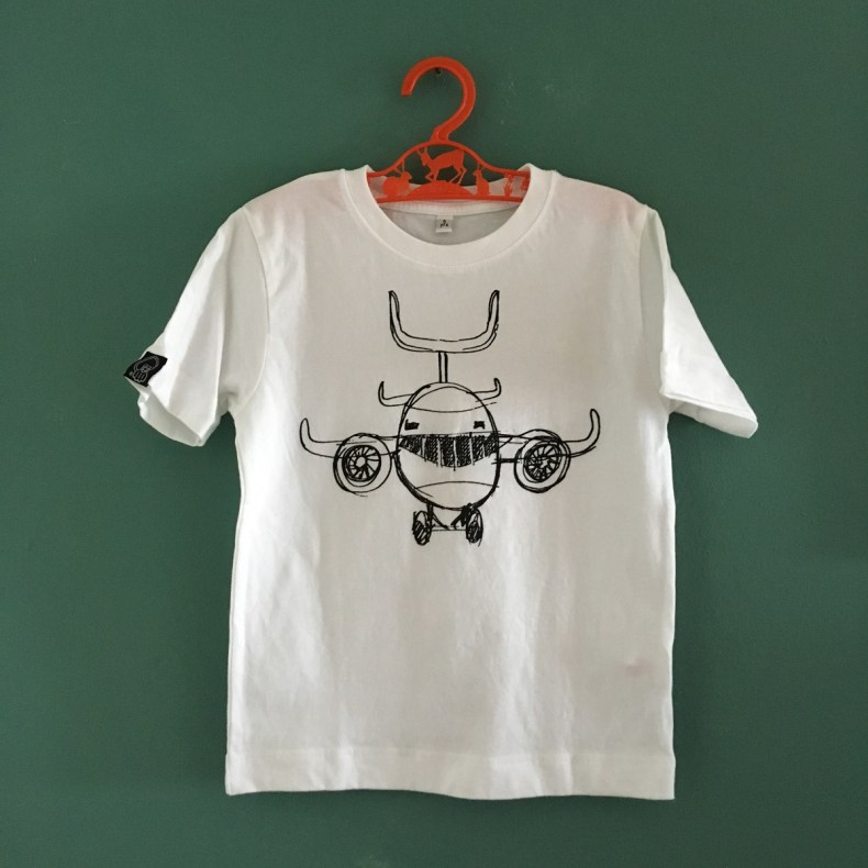 Joy Flight kids tee black