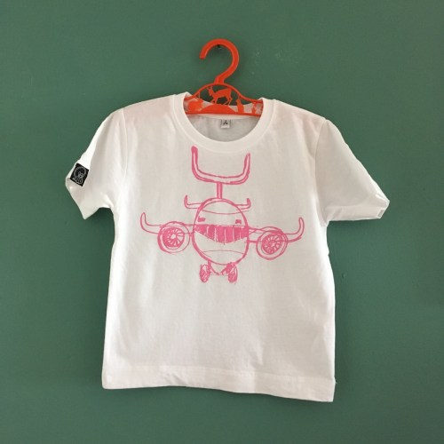 Joy Flight kids tee pink