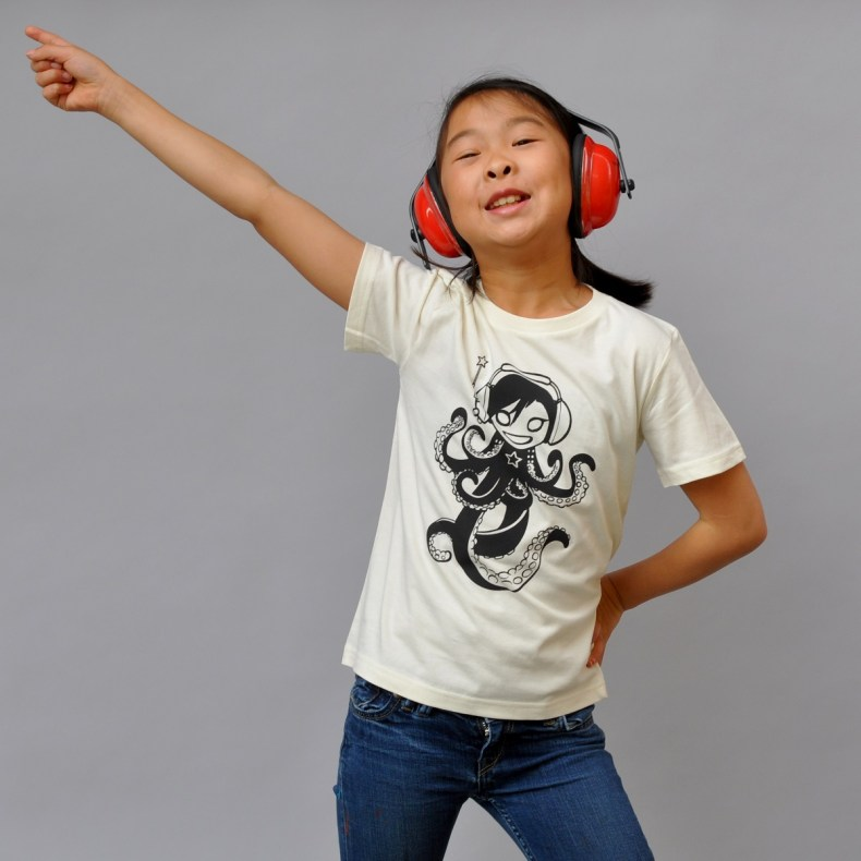 Octogirl Kids Tee