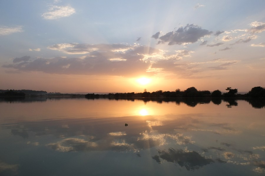 The River Niger in Bamako, Mali