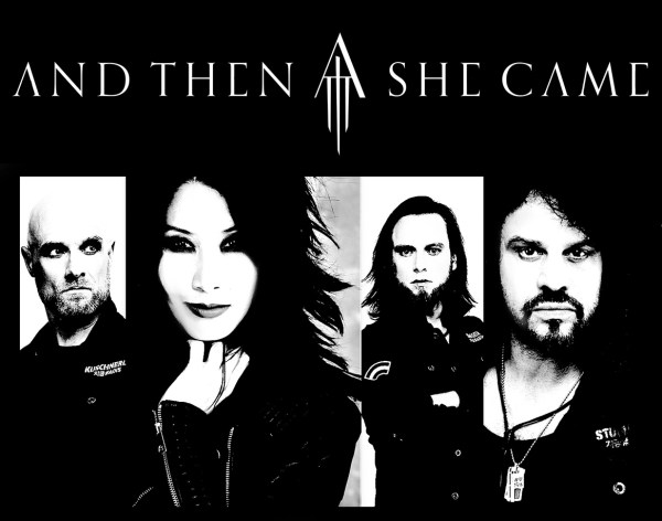 AND THEN SHE CAME im März Live in Dormagen