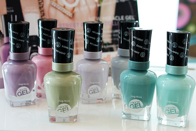 Use With Miracle Gel Top Coat New Birthday Suit By Sally Hansen