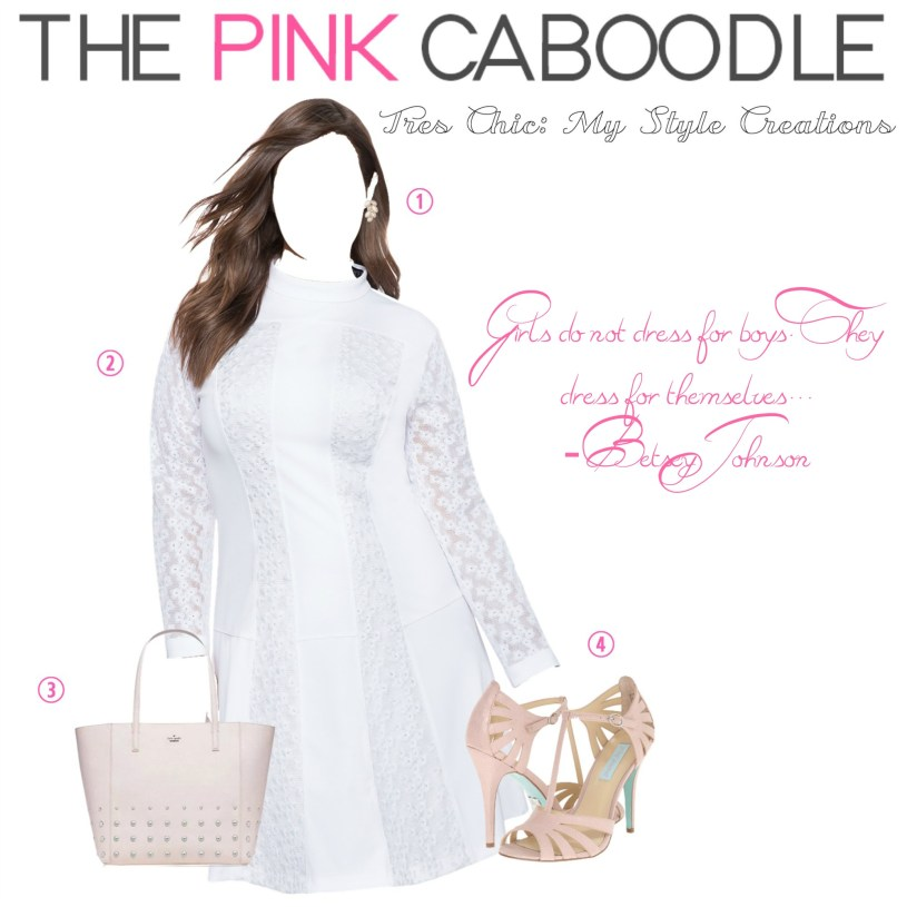 www.pinkcaboodle.com My Style | White&Pink