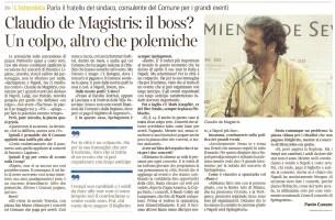 il corriere - De Magistris