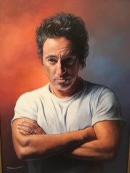 SUSANNE FUMELLI -Artista indipendente dal 1985. Espone in varie gallerie in Germania e alcuni ritratti di Bruce sono stati pubblicati dal fan club tedesco sulla rivista Wish