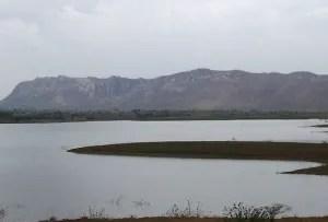 Huge artificial Lake