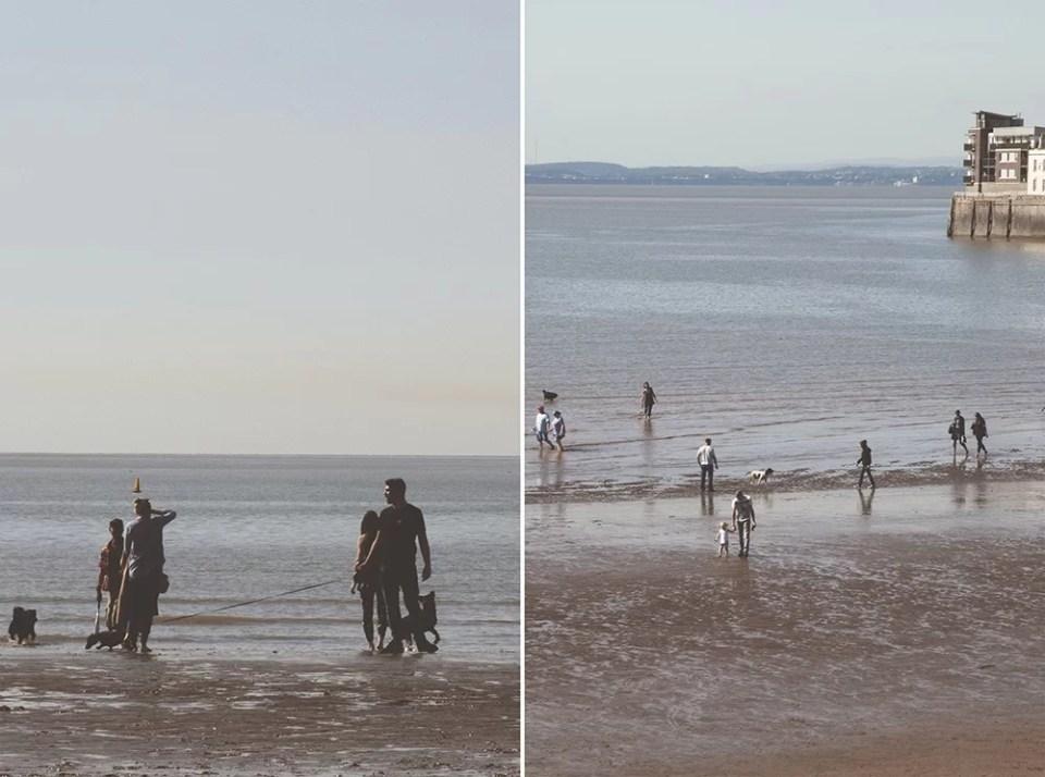 Weston super mare beach