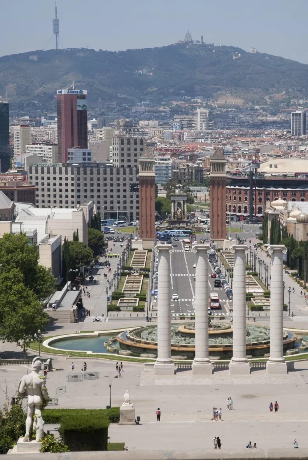 Muzeum na wzgórzu Montjuic