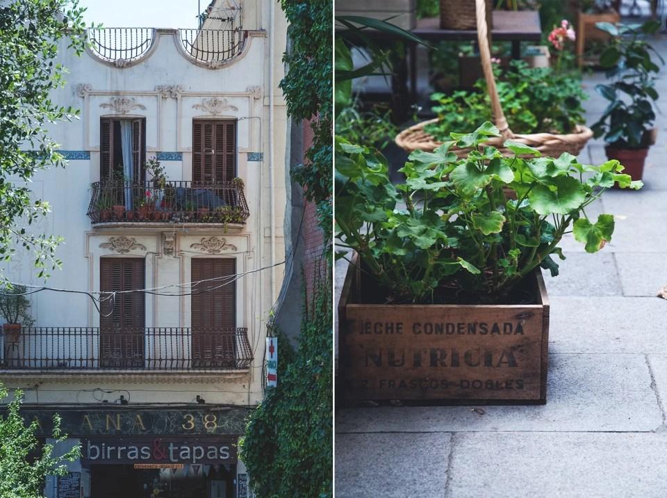 Barcelona zwiedzanie uliczek, bez turystów
