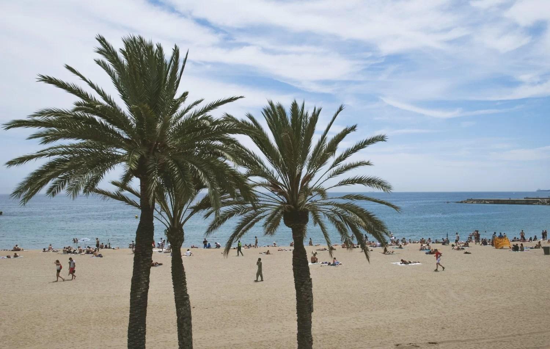 Barcelona plaża główna