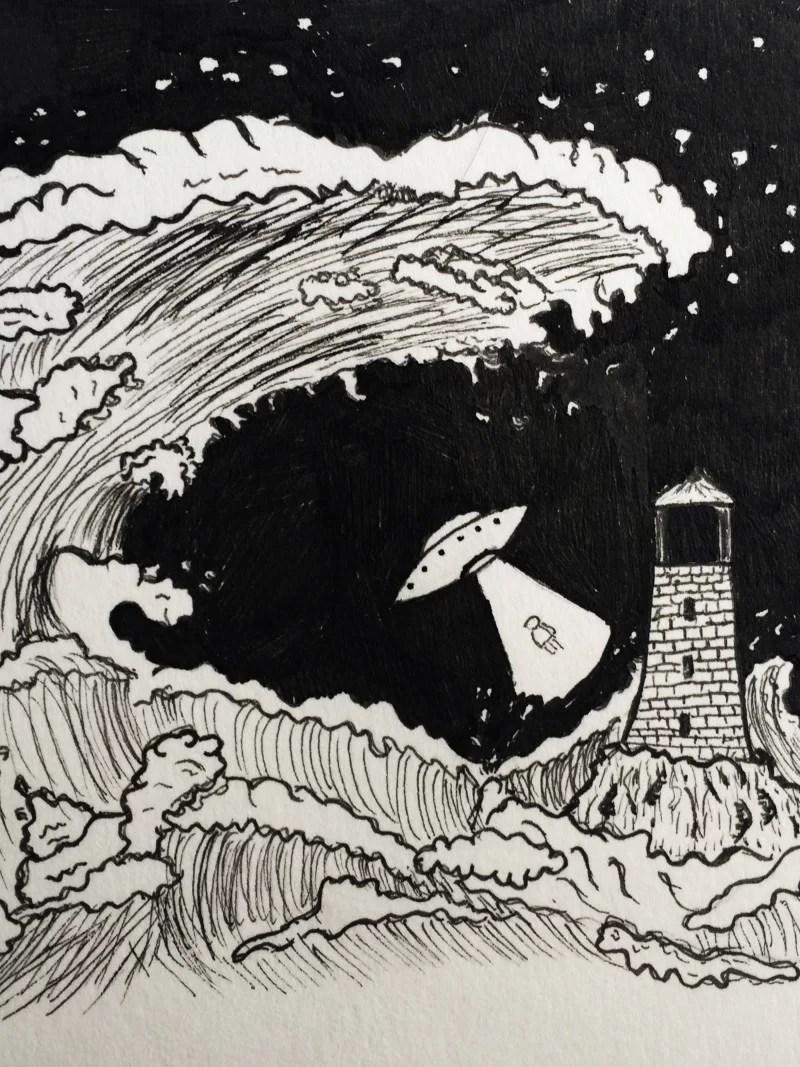 Alek GK story drawning