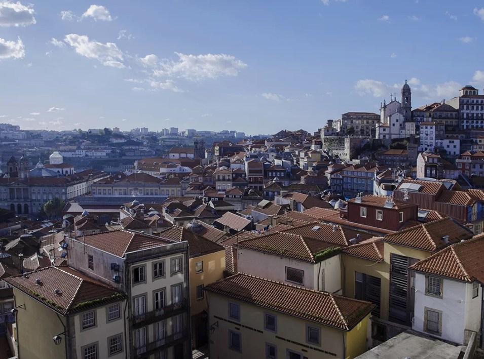 Porto widok na miasto