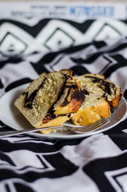 Ciasto drożdżowe czekoladowe