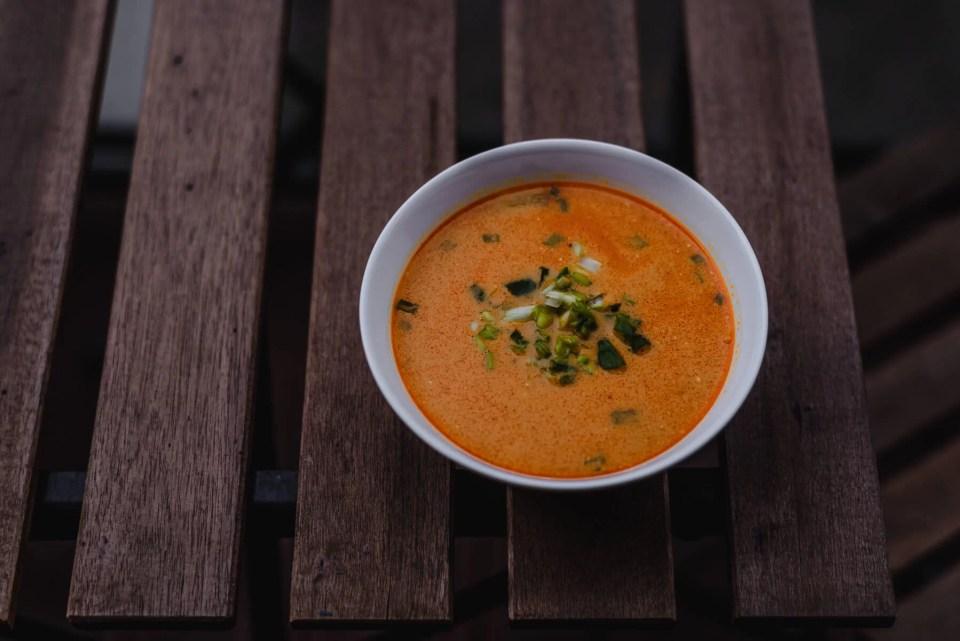 Wegetariańska zupa z soczewicy