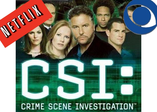 CSI Las Vegas + Netflix