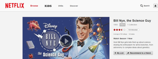 Bill Nye on Netflix