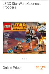 Lego Star Wars Geonosis Troopers set
