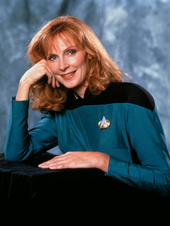 Image of Dr Crusher from Star Trek The Next Generation.