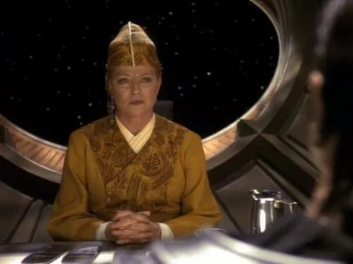 Image of Kai Winn from Star Trek Deep Space 9.