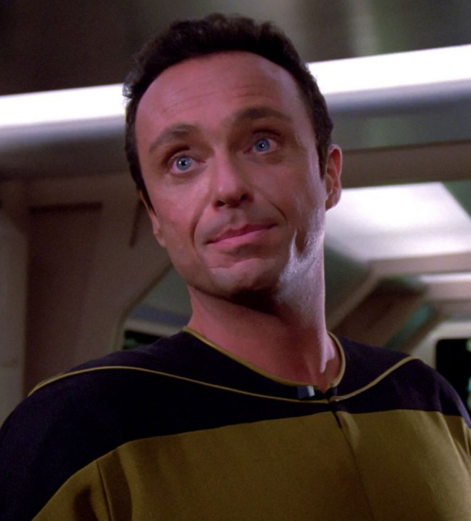Image of Stanley Kamel in the Star Trek The Next Generation episode Where No One Has Gone Before