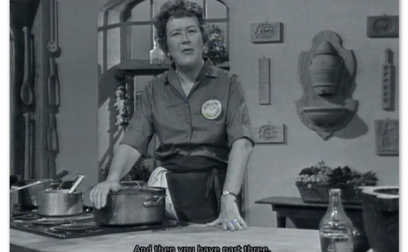 <em>Julia Child on twitch</em> – A Note