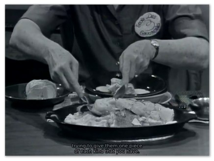 Image of Julia Child from the twitch.tv streaming marathon of 'The French Chef'.