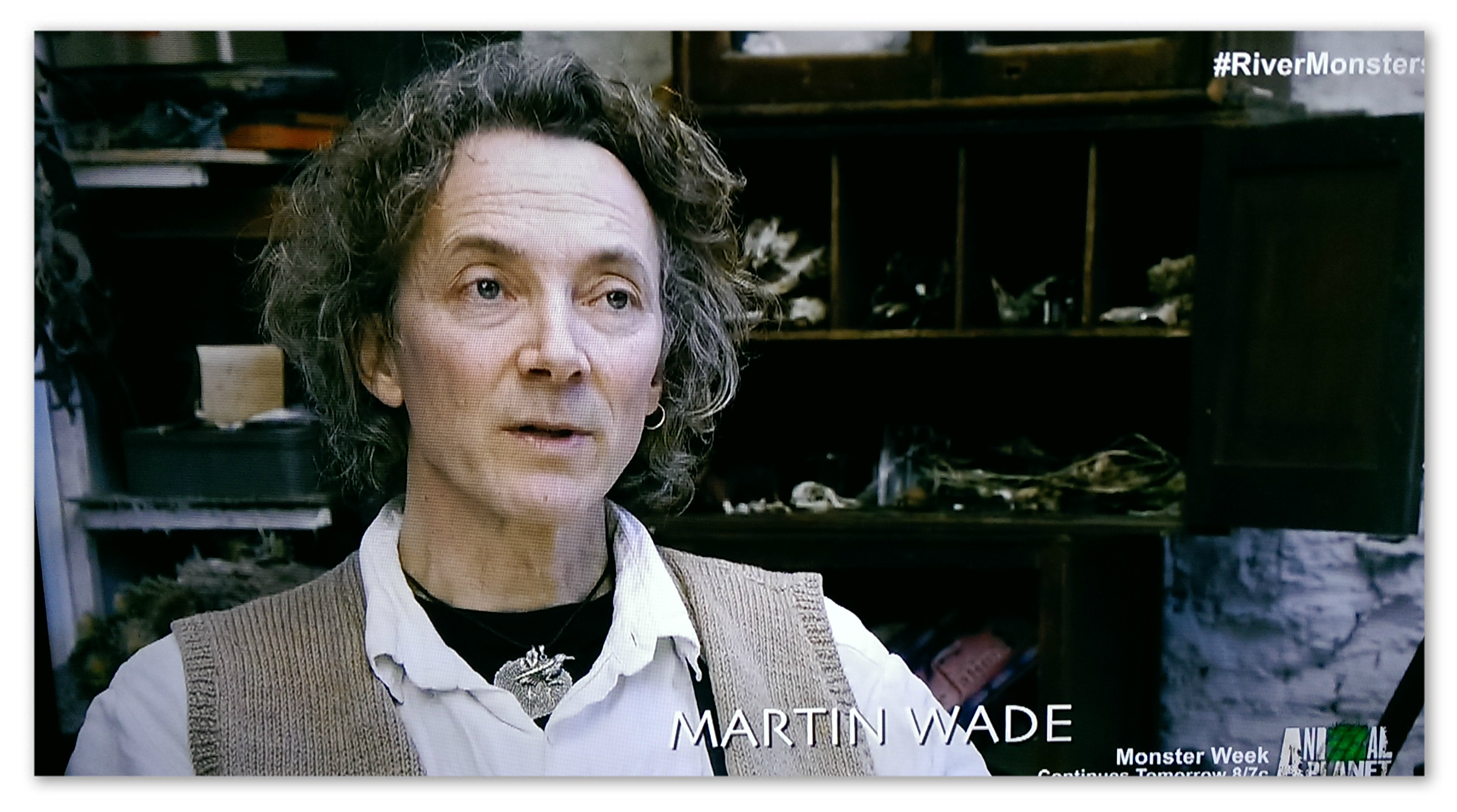 Image of Jeremy Wade's brother Martin Wade