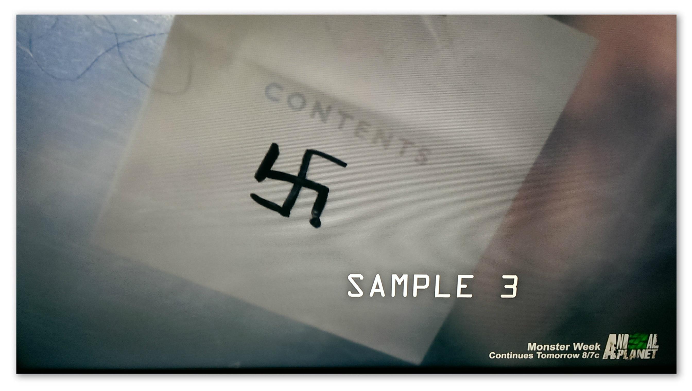 Are you freaking kidding me. Nazis.