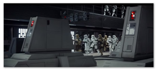 Image of Storm Troopers running in Rogue One