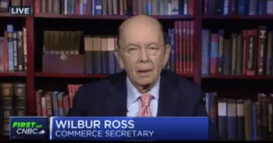 Wilbur Ross – When Making America Great Means Hating its Values